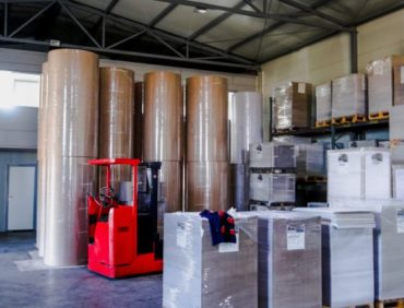 Magacin i proizvodni pogon Instant Papir firme